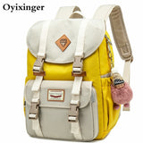 New Junior School Bags For Girls Backpack Student Children Bag Concise Waterproof Campus Backpacks Plecak Szkolny Mochila Ruedas