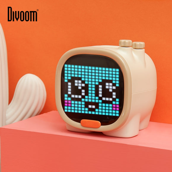 Divoom Timoo Pixel Art Bluetooth Speaker Portable Wireless