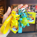 Genuine Pokemon Action Figure Keychain