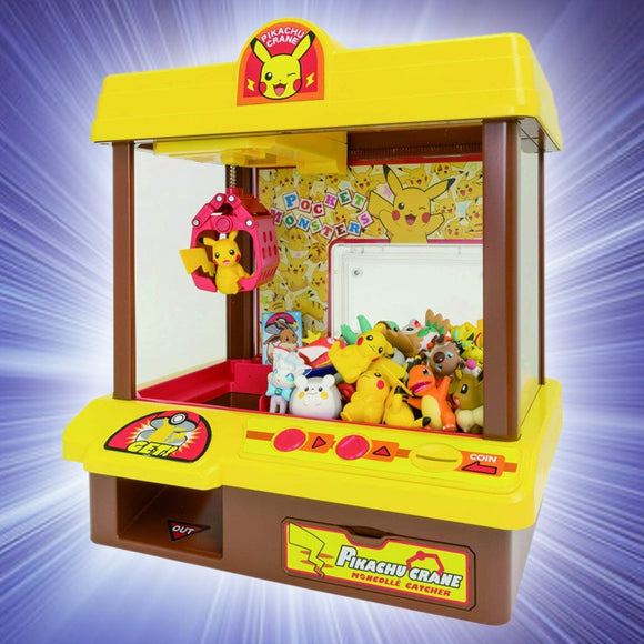Pokemon Mini maquina de pegar claw arcade
