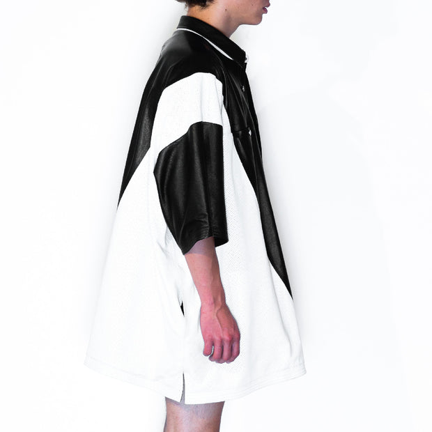BLACK WHITE I REVERSIBLE JACKET