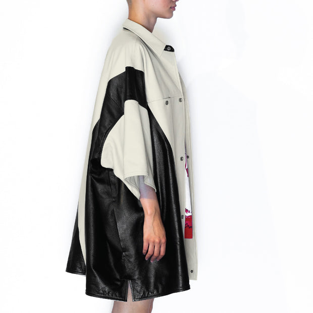 IVORY BLACK I REVERSIBLE JACKET