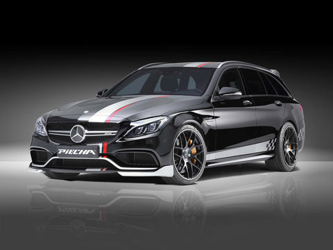 RS-R Front Cup Wings für W205 AMG C63