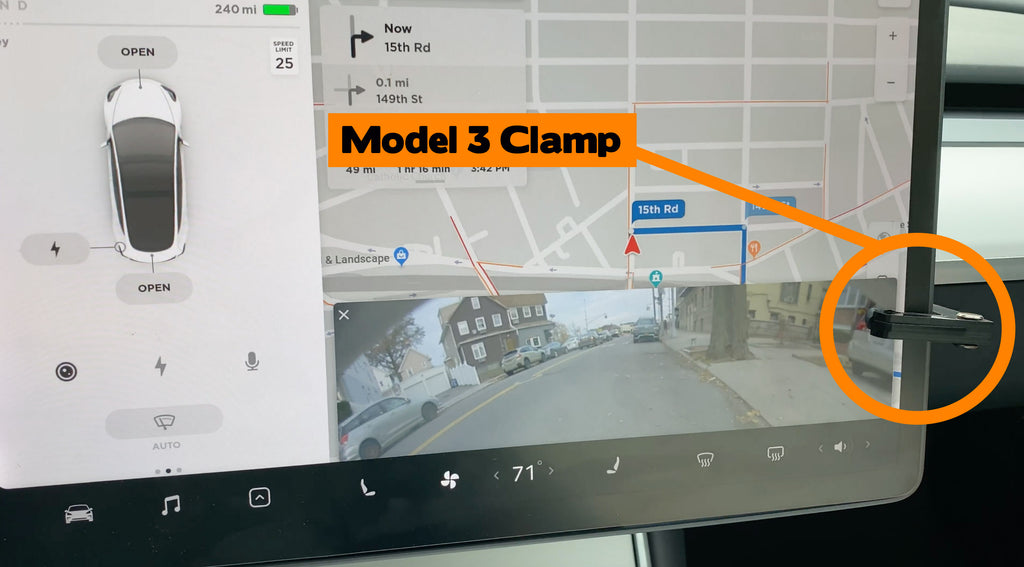 Tesla Model 3 Hack: Rear Camera Clamp (Instructions on how to make)