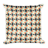 Geometric Square Pillow