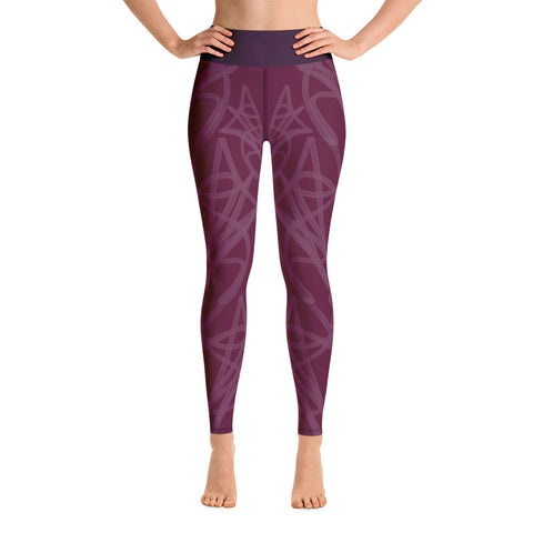 Winey Yoga Leggings