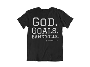 GGB Lifestyle OG Tee- Black grad (basic)