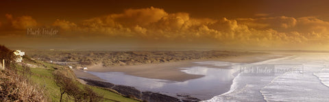 Saunton Sands Tobacco Panorama - markfowlerimages.com