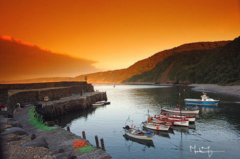 Clovelly Harbour North Devon - markfowlerimages.com