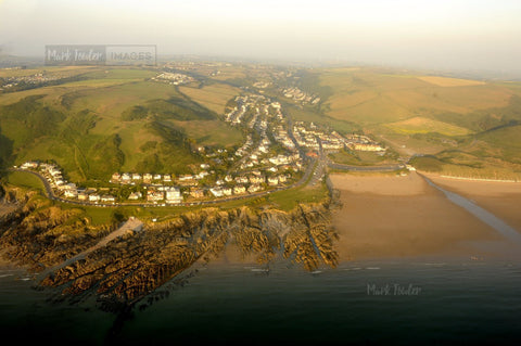 Woolacombe Aerial North Devon - markfowlerimages.com