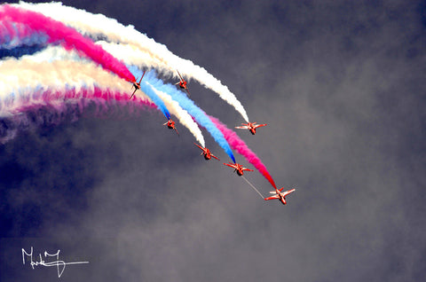 RED ARROWS PALM SPLIT - markfowlerimages.com