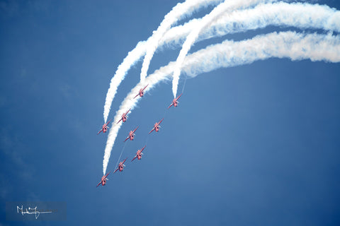 Red Arrows Eagle 0171A - markfowlerimages.com