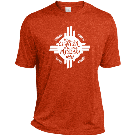 Viva Cerveza Sport-Tek Heather Dri-Fit Moisture-Wicking T-Shirt