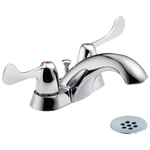 Commercial HDF 2529LF-HDF Two Handle Centerset Lavatory Faucet Chrome