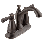 Delta Linden 2593-RBMPU-DST Traditional Two Handle Centerset Bathroom Faucet Venetian Bronze