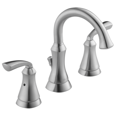 Delta Mandara 35962LF-SS-ECO Two Handle Widespread Bathroom Faucet Stainless