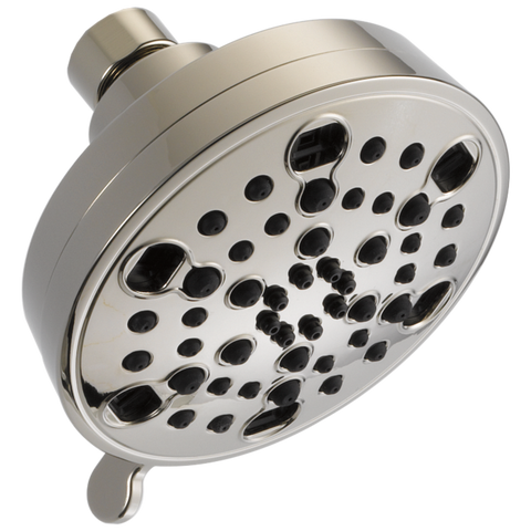 Delta Universal Showering Components 52638-PN15-PK H2Okinetic 5-Setting Contemporary Shower Head Polished Nickel