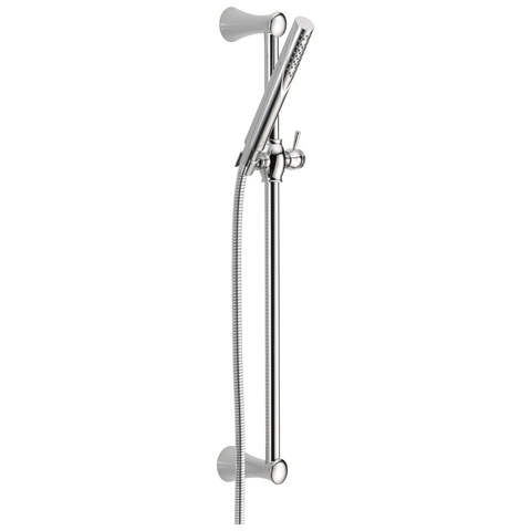 Delta Grail 57085 Premium Single-Setting Slide Bar Hand Shower Chrome