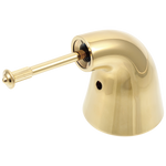 Delta Innovations H74PB Metal Lever Handle Kit - Less Accent - Tub & Shower Polished Brass