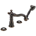 Delta Victorian T4755-RBLHP Roman Tub with Hand Shower Trim - Less Handles Venetian Bronze