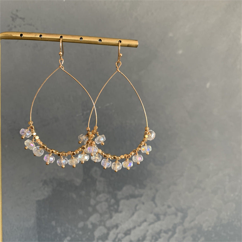 Tear Drop Bead Earring