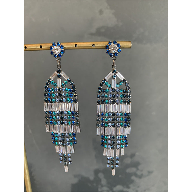 Maia Art Deco Chandelier Earring
