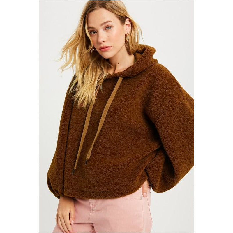 Teddy Bear Hooded Pullover