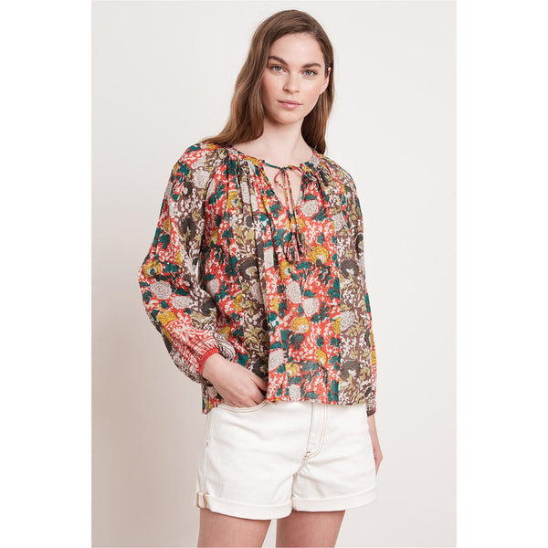 Paz Printed Blouse