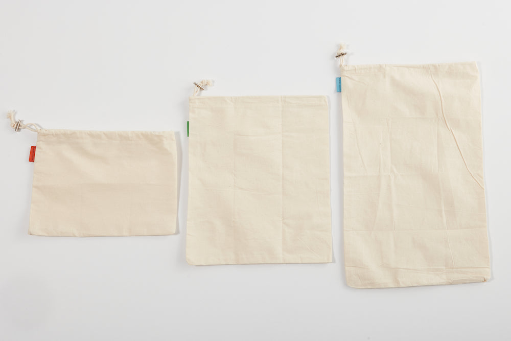 Muslin Reusable Veggie Bag