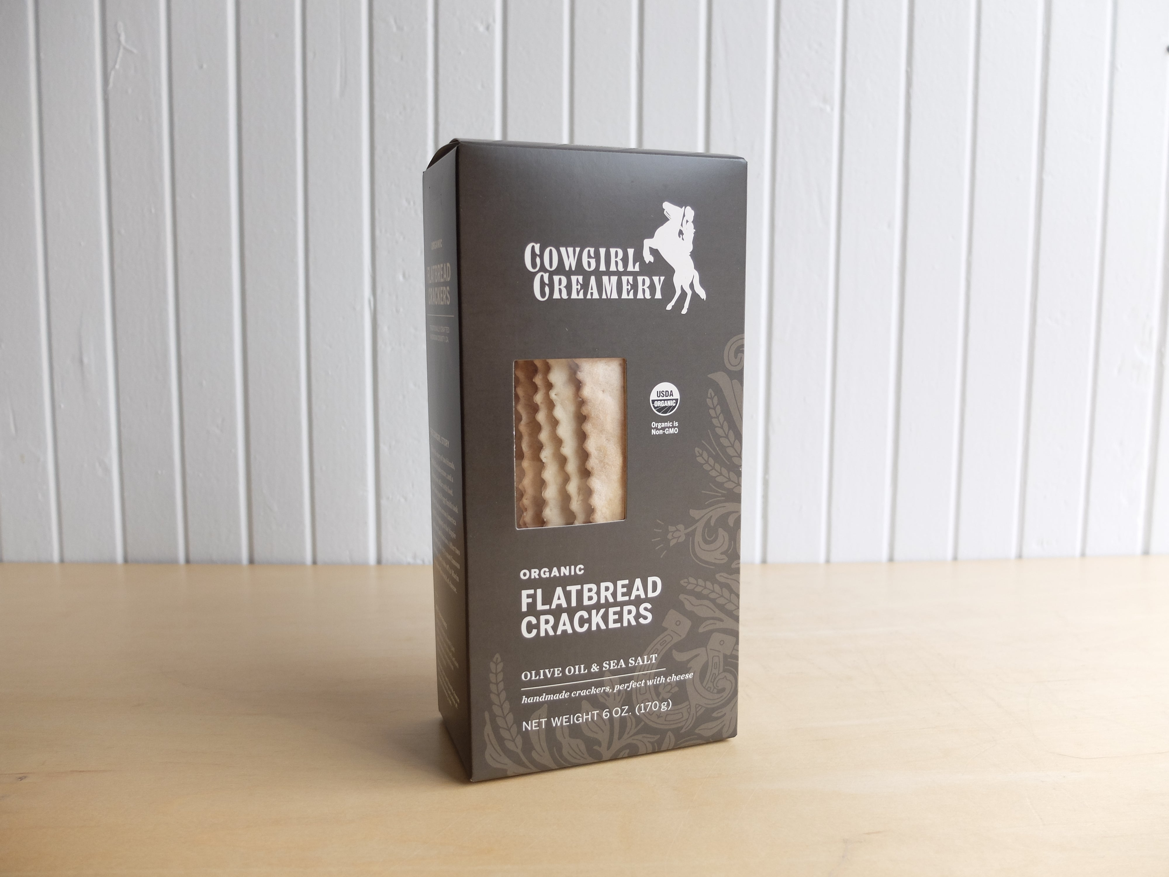 Cowgirl Creamery Organic Olive Oil and Sea Salt Flatbread Crackers