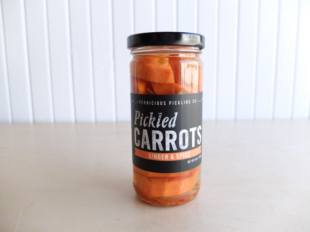Pernicious Pickling Co Pickled Carrots