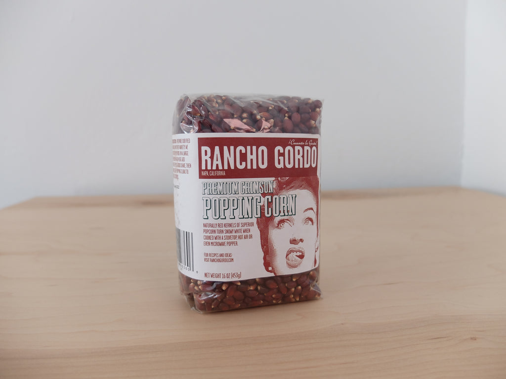 Rancho Gordo Crimson Popping Corn