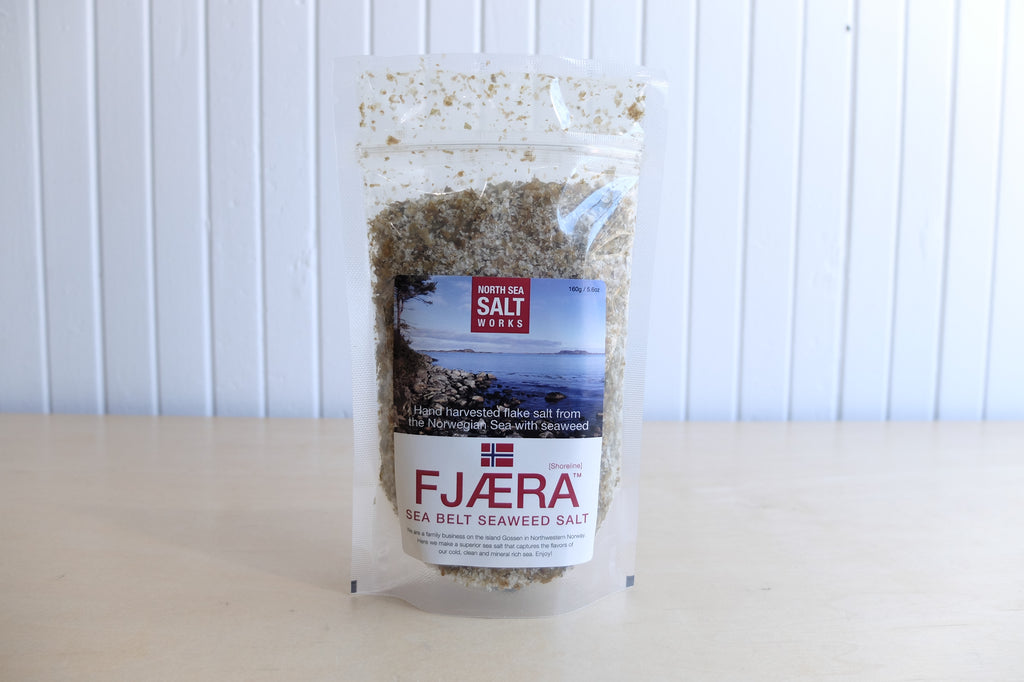 North Sea Salt Works Fjaera Dulce Seaweed Salt