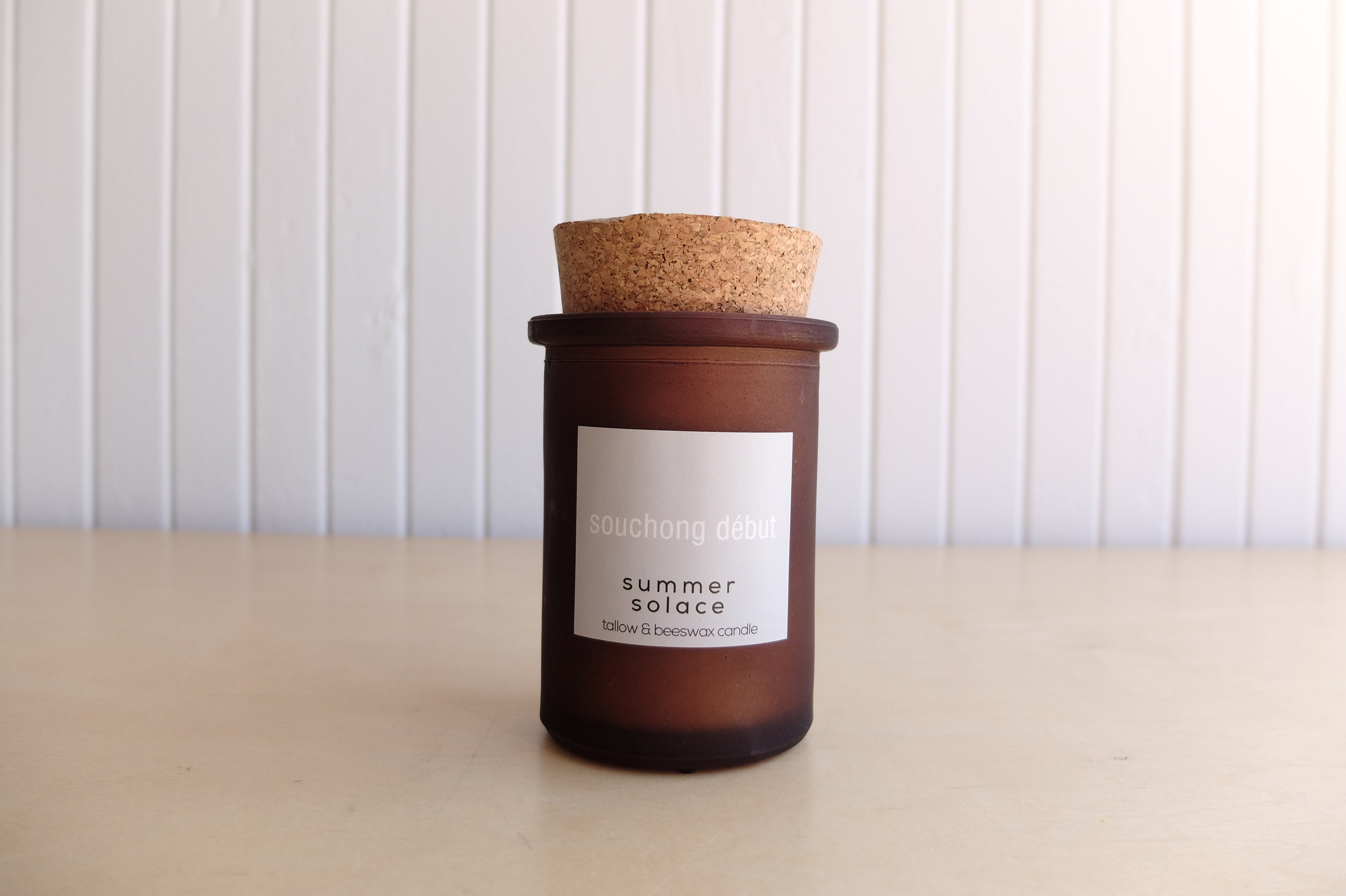 Summer Solace Tallow Candle, Souchang Debut