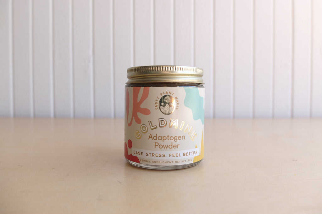 Goldmine Adaptogen Powder Jar