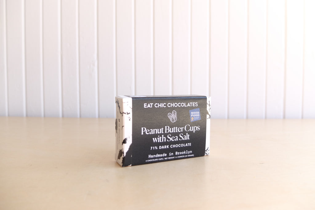 Eat Chic Chocolates Peanut Butter Cups with Sea Salt