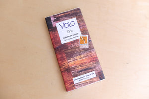 Volo Dark Milk Chocolate Bar with Sea Salt and Brown Butter