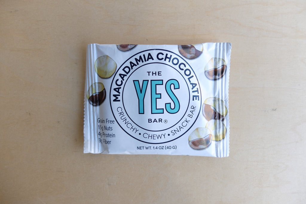 Yes Bar Macadamia Chocolate