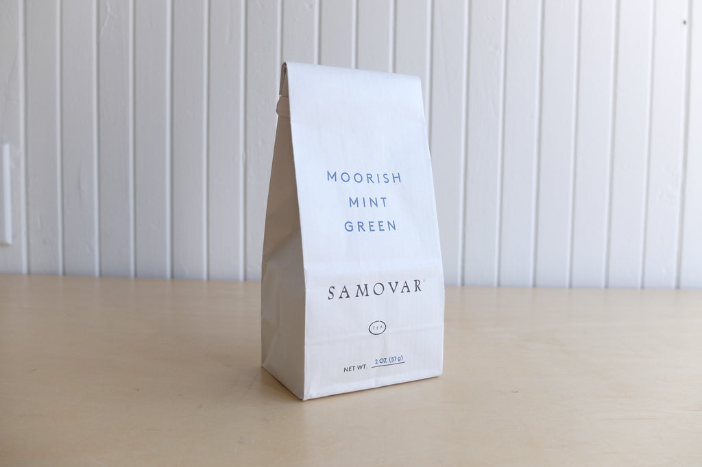 Samovar Moorish Mint Green Tea