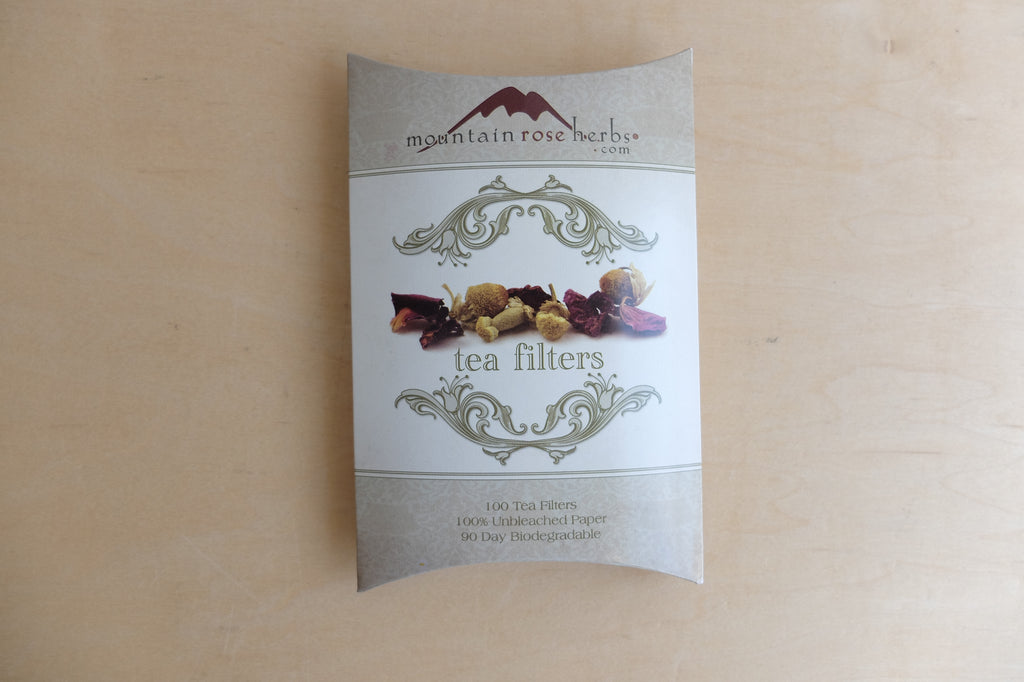 Mountain Rose Paper Tea Filters