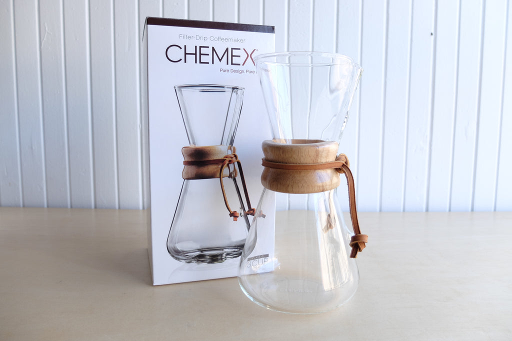 Chemex Three Cup Classic Series Coffeemaker