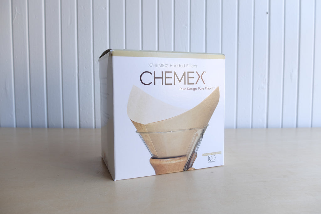Chemex Bonded Filters - Natural Squares - 100