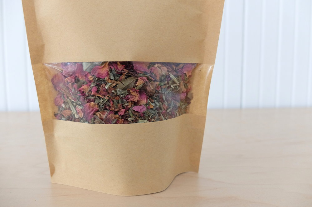 Miracle Plum Rose Herbal Tea