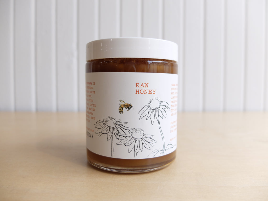 Sonoma County Bee Co. RAW Honey
