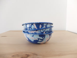 Bornn Multi Swirl Bowl in Cobalt