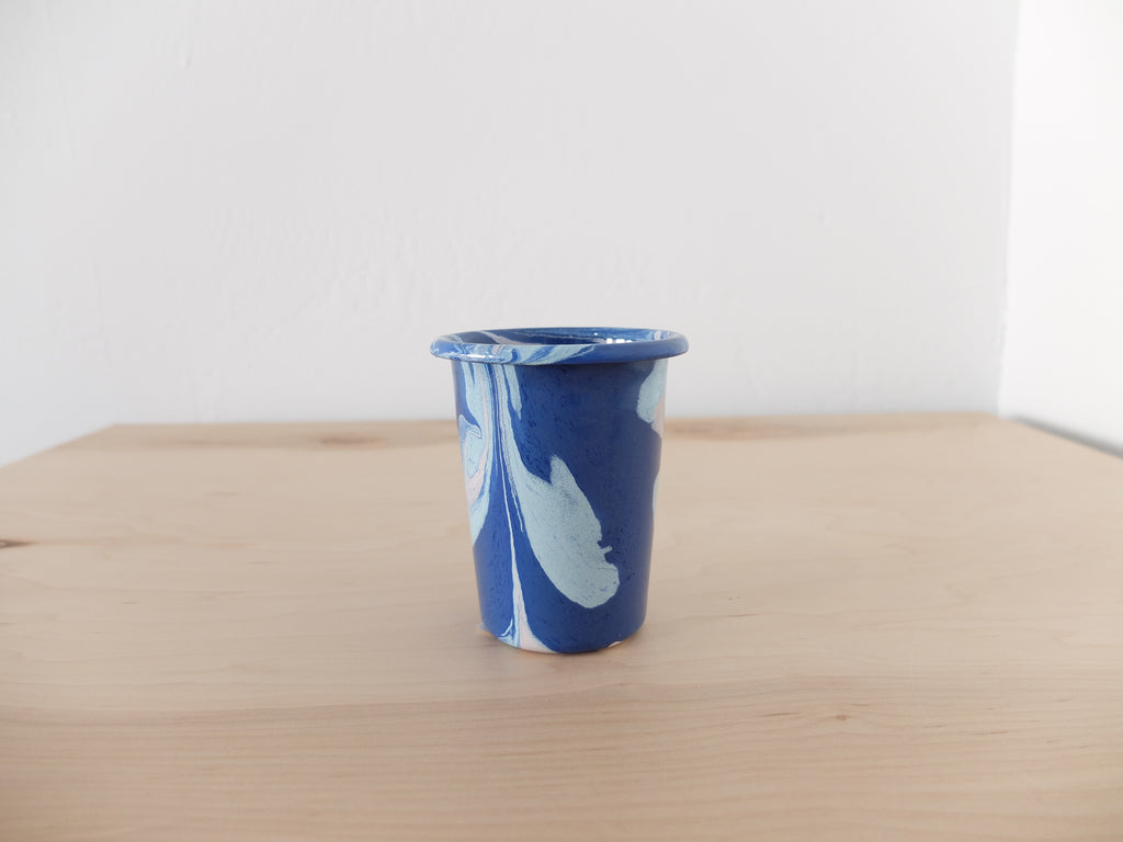 Bornn Multi Swirl Small Tumbler in Cobalt