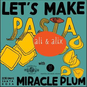 11/10/2019 4:30PM-6:30PM | LET'S MAKE PASTA 103: STUFFED PASTA - General Admission