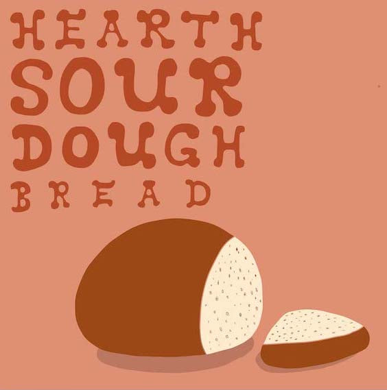 3/1/20 4:30p-8:00p Sourdough Baking Workshop with Sarah Owens: Hearth Style Sourdough Bread Edition