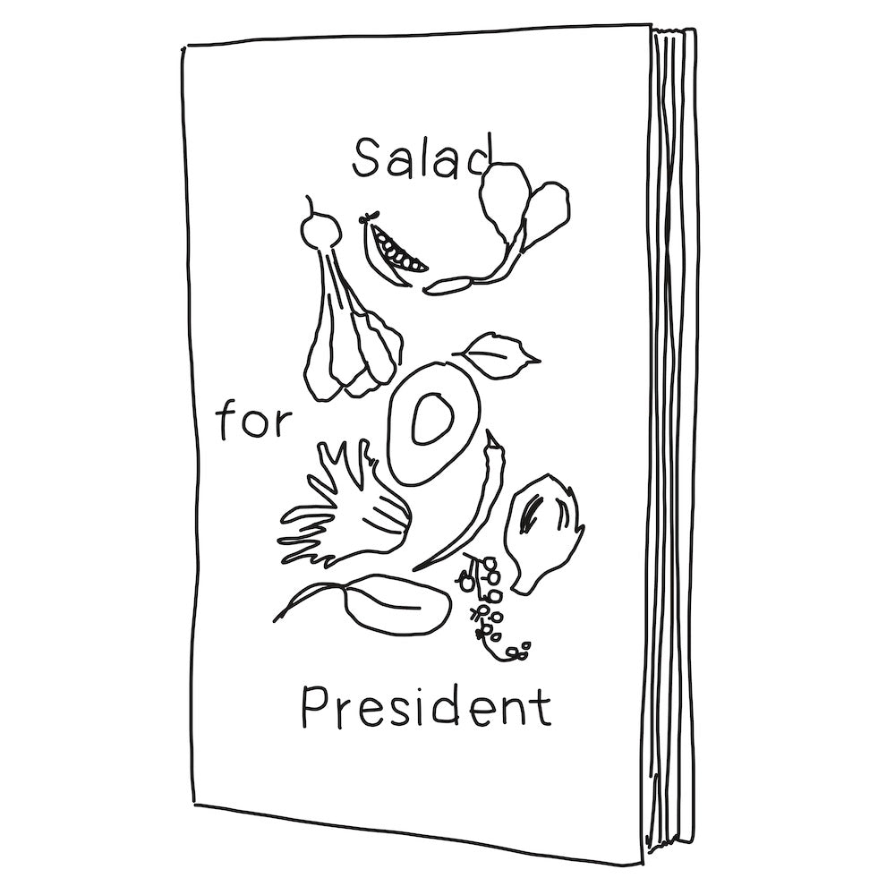Salad For President by Julia Sherman