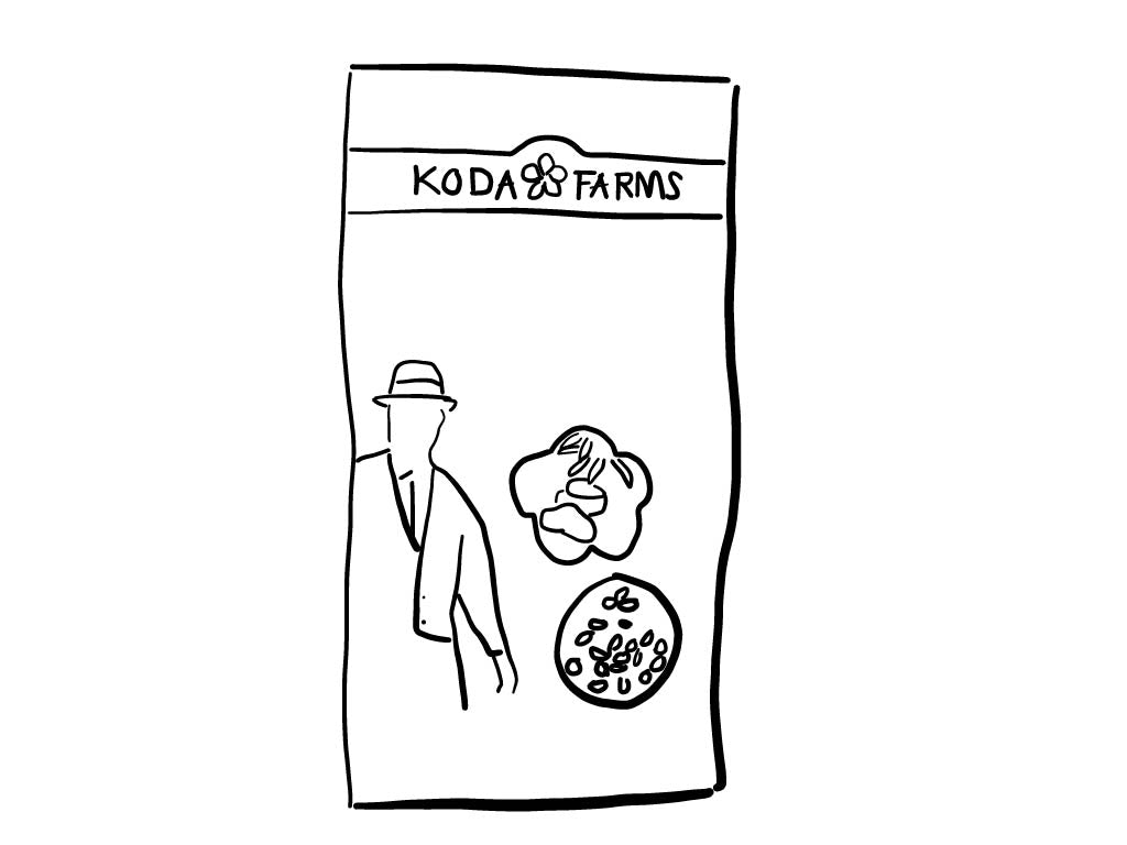 Koda Farms Organic Sho-Chiku-Bai White Rice